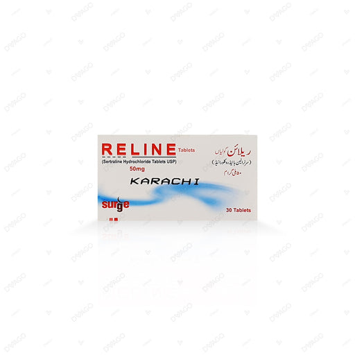 Reline 50mg Tablets 30's