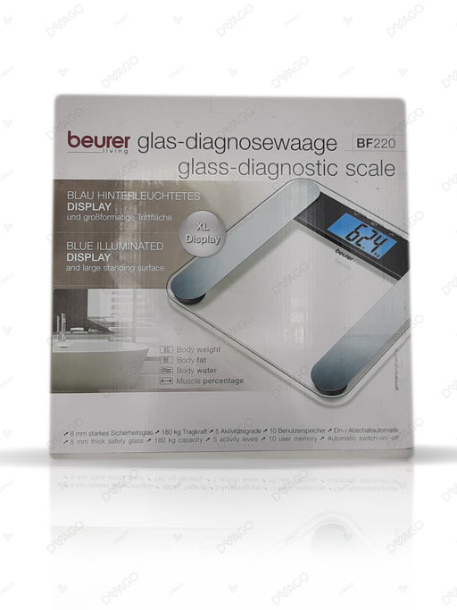 Beurer Diagnostic Bathroom Scales BF220