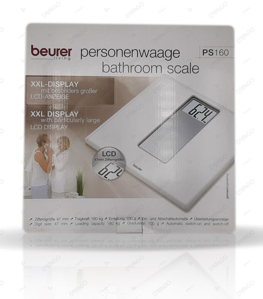 Beurer Personal Bathroom Scale PS160