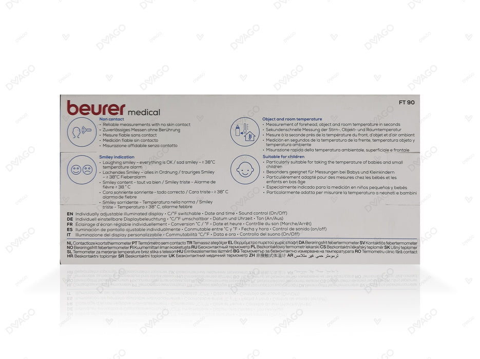 Beurer Non Contact Clinical Thermometer FT90