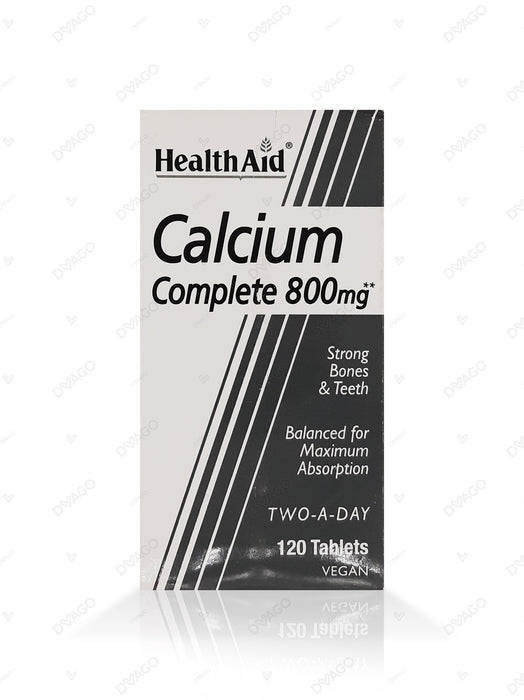 HealthAid Calcium Complete 800mg 120 Tablets