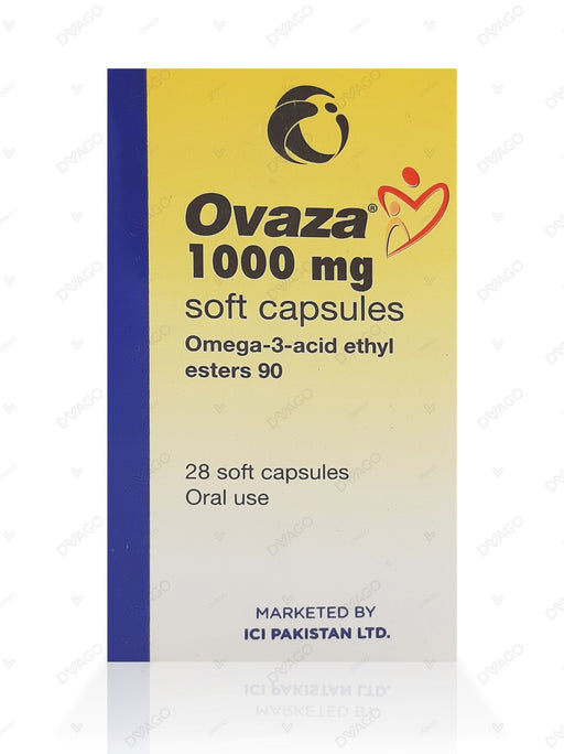 OVAZA 1000MG SOFT CAP 1'S