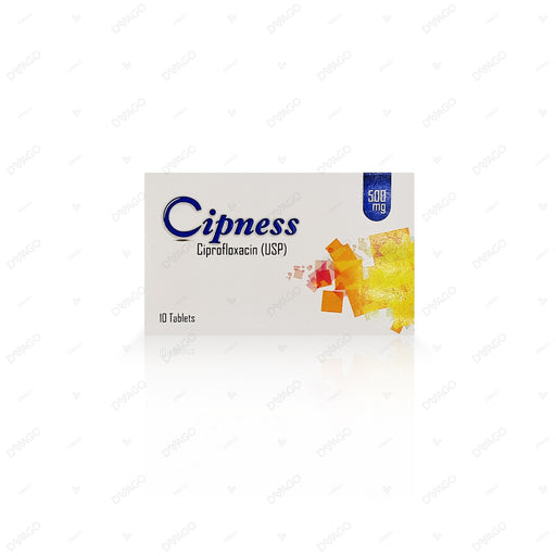 Cipness 500mg Tablets 10's