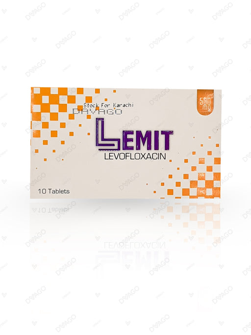 Lemit 500mg Tablets 10's