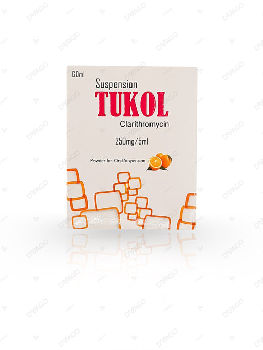 Tukol 250mg Suspension 60ml