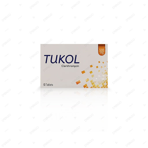 Tukol 500mg Tablets 10's