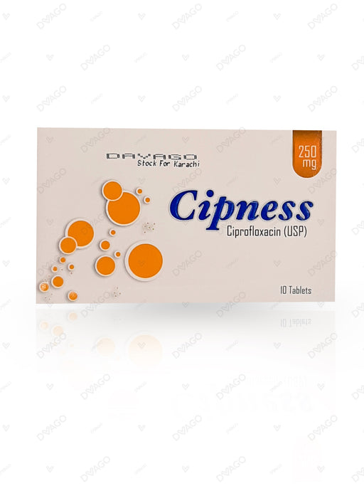 Cipness 250mg Tablets 10's