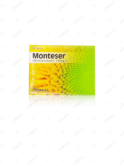 Monteser 10mg Tablets 14's