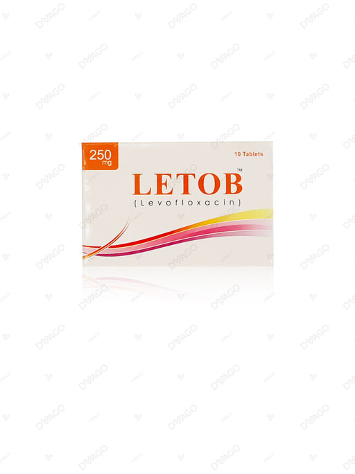 Letob 250mg Tablets 10's
