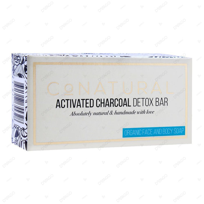 Co Natural Activated Charcoal Detox Bar 107g