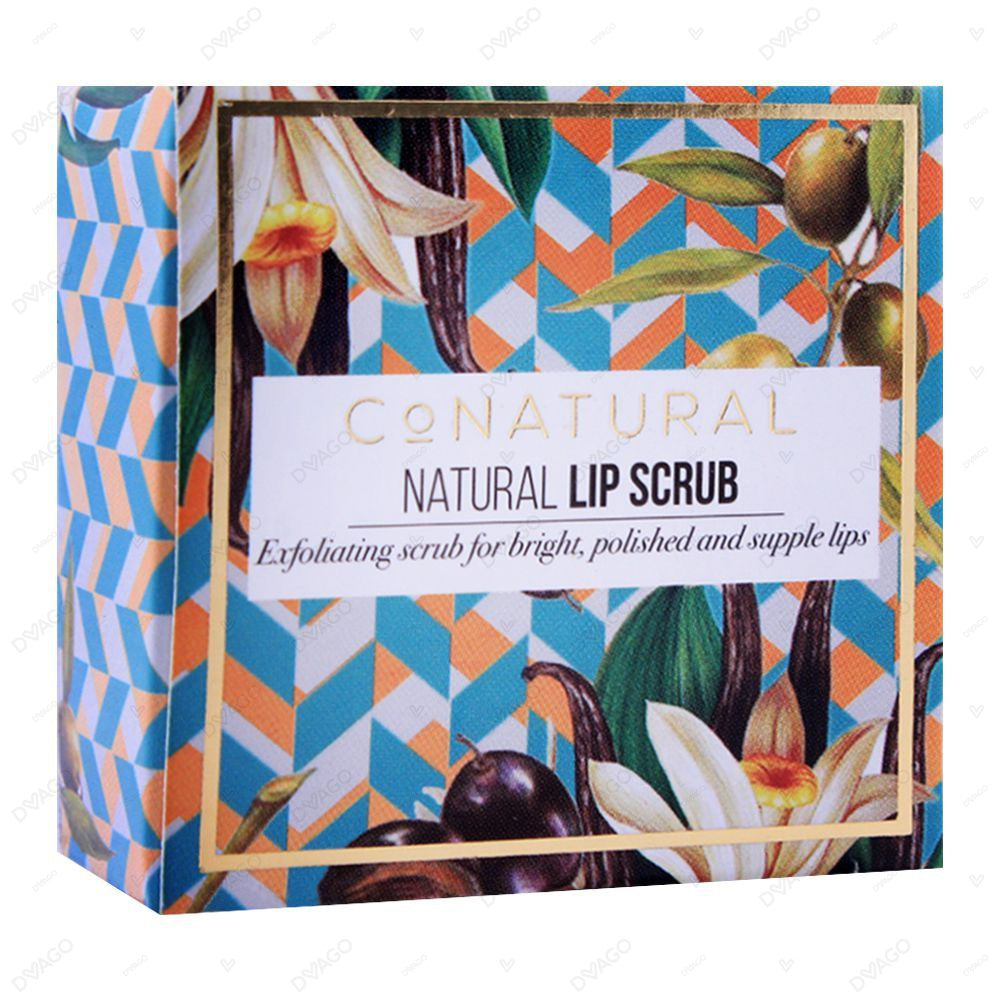 Co Natural Natural Lip Scrub 55g