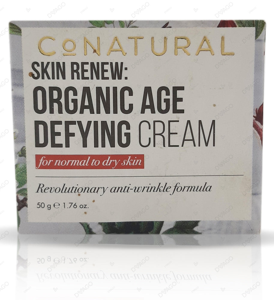 Co Natural Skin Renew: Organic Age Defying Cream 50g