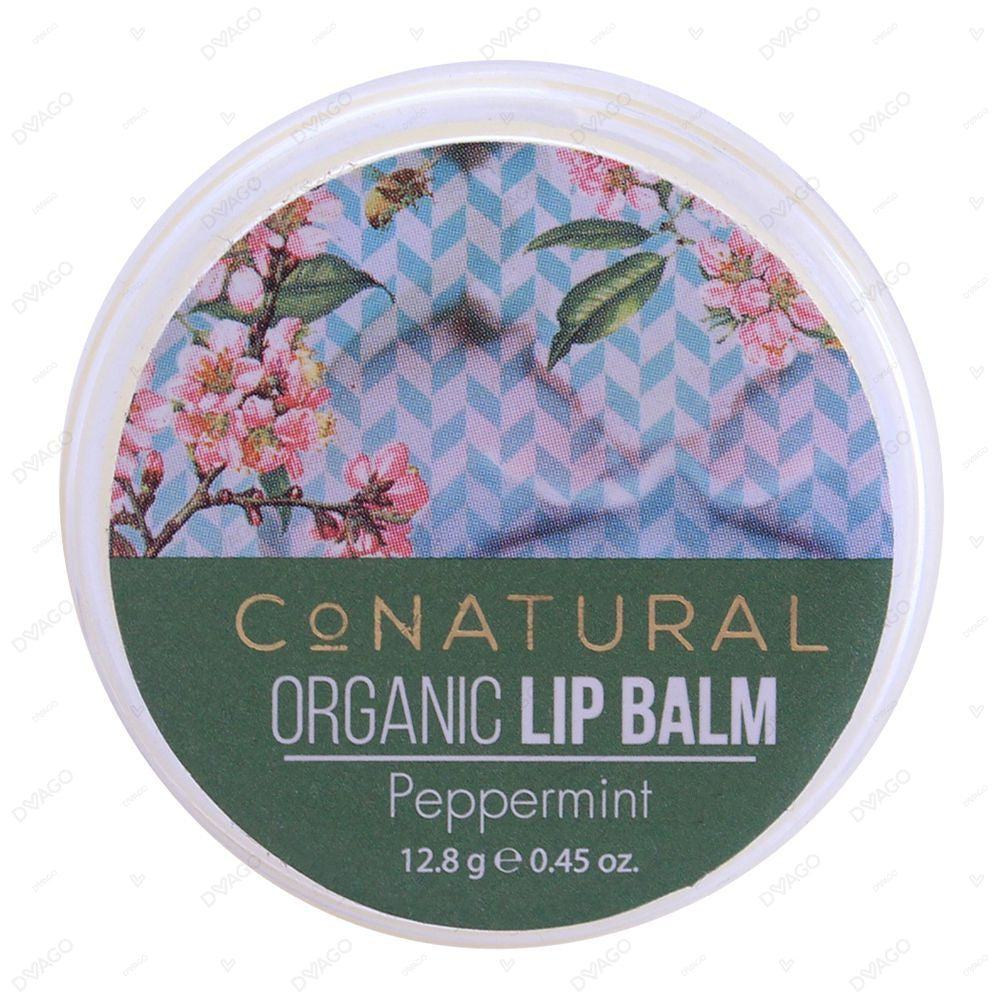 Co Natural Organic Peppermint Lip Balm 12.8g