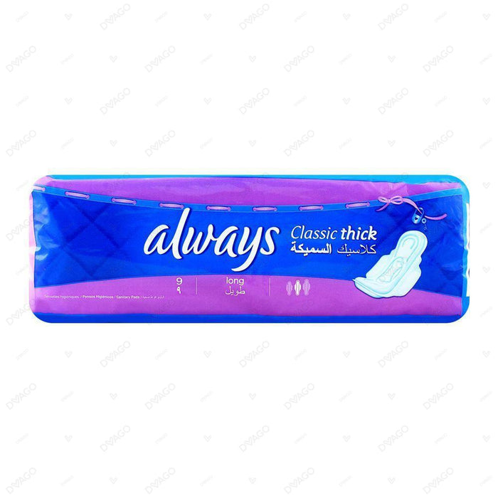 Always Thicks Classic Sanitary Pads Long Single Pack