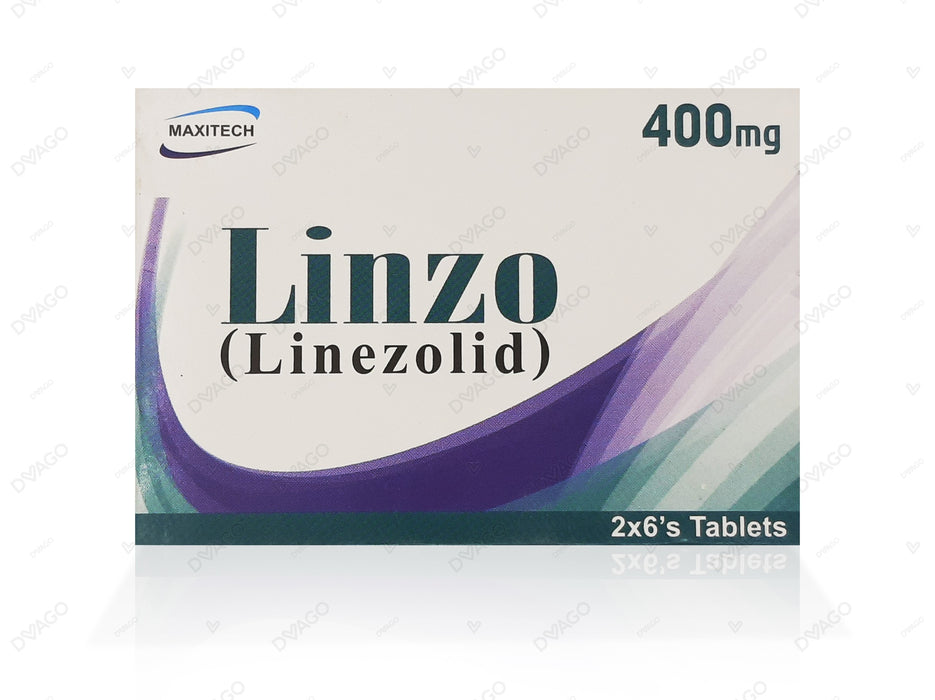 LINZO 400MG TABLET  12'S