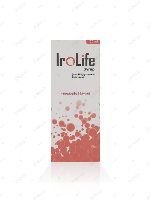 IROLIFE 120ML SYP 1'S
