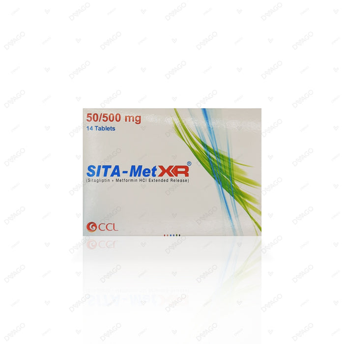 Sita-Met Xr 50/500mg Tablets 14's