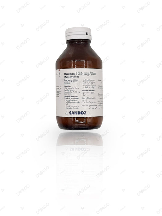 Ospamox Suspension 125mg 90ml