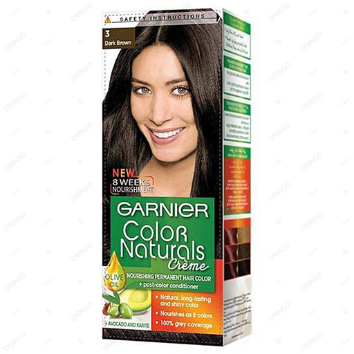 Garnier Color Naturals Creme 3 Dark Brown