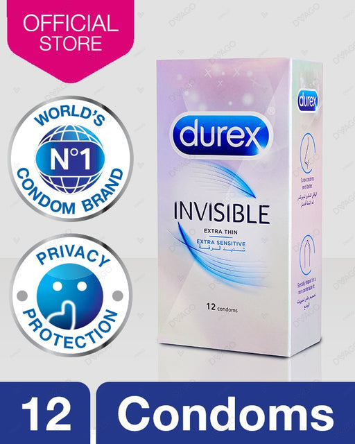 Durex Invisible Condom Pack of 12