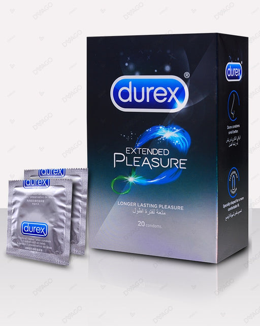 Durex Extended Pleasure Condoms Pack of 20