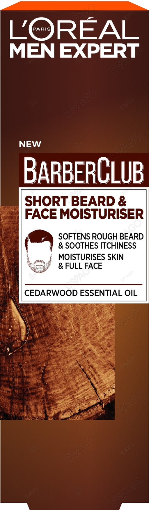 Barber Club Short Beard & Face Moisturizer - 50ml