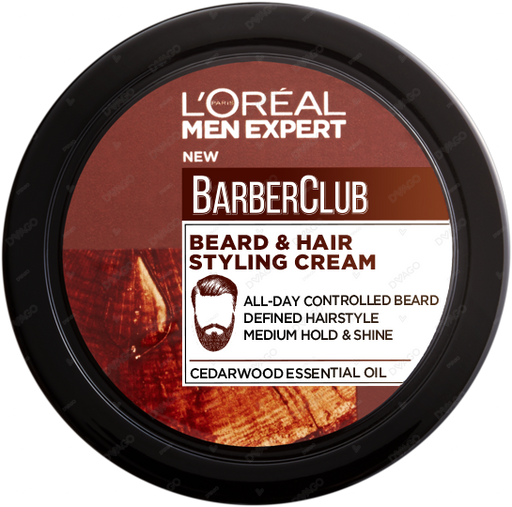 Barber Club Beard & Hair Styling Cream - 75ml