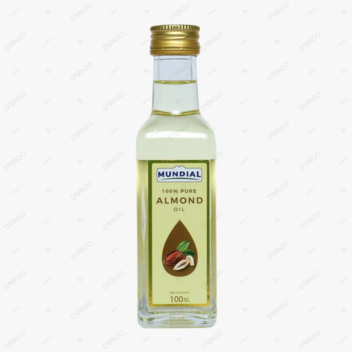 MUNDIAL 100% PURE ALMOND OIL 100ML