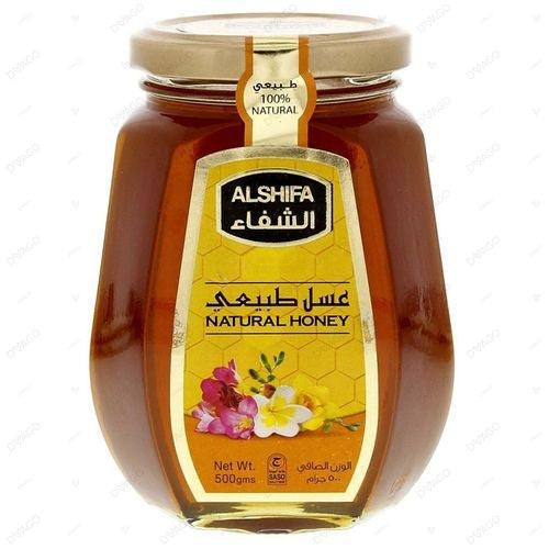 ALSHIFA NATURAL HONEY 500GM