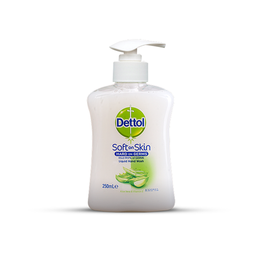 Dettol Hand Wash Aloe Vera & Vitamin E 250ml