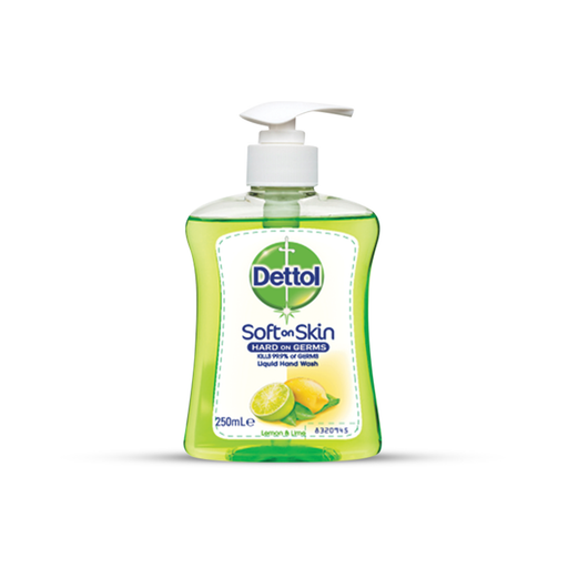 Dettol Hand Wash Lemon & Lime 250ml