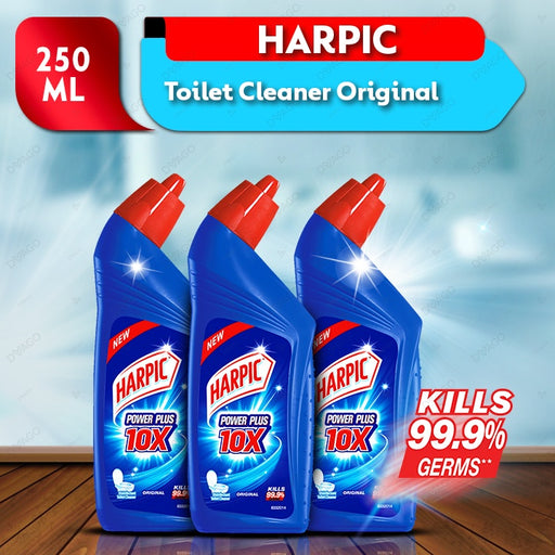 Harpic Toilet Clean 250ml- Pack of 3