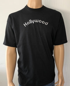 Hollywood 👕 Embroidered text T-shirt
