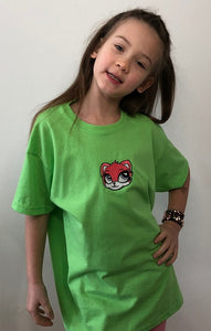 Kitty 🐱 | Image embroidered on kids T-shirt