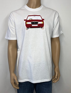 Retro Mercedes | Image embroidered on T-shirt 👕