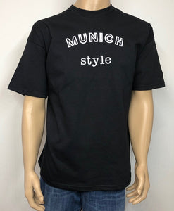 Munich style 👕 Embroidered text T-shirt