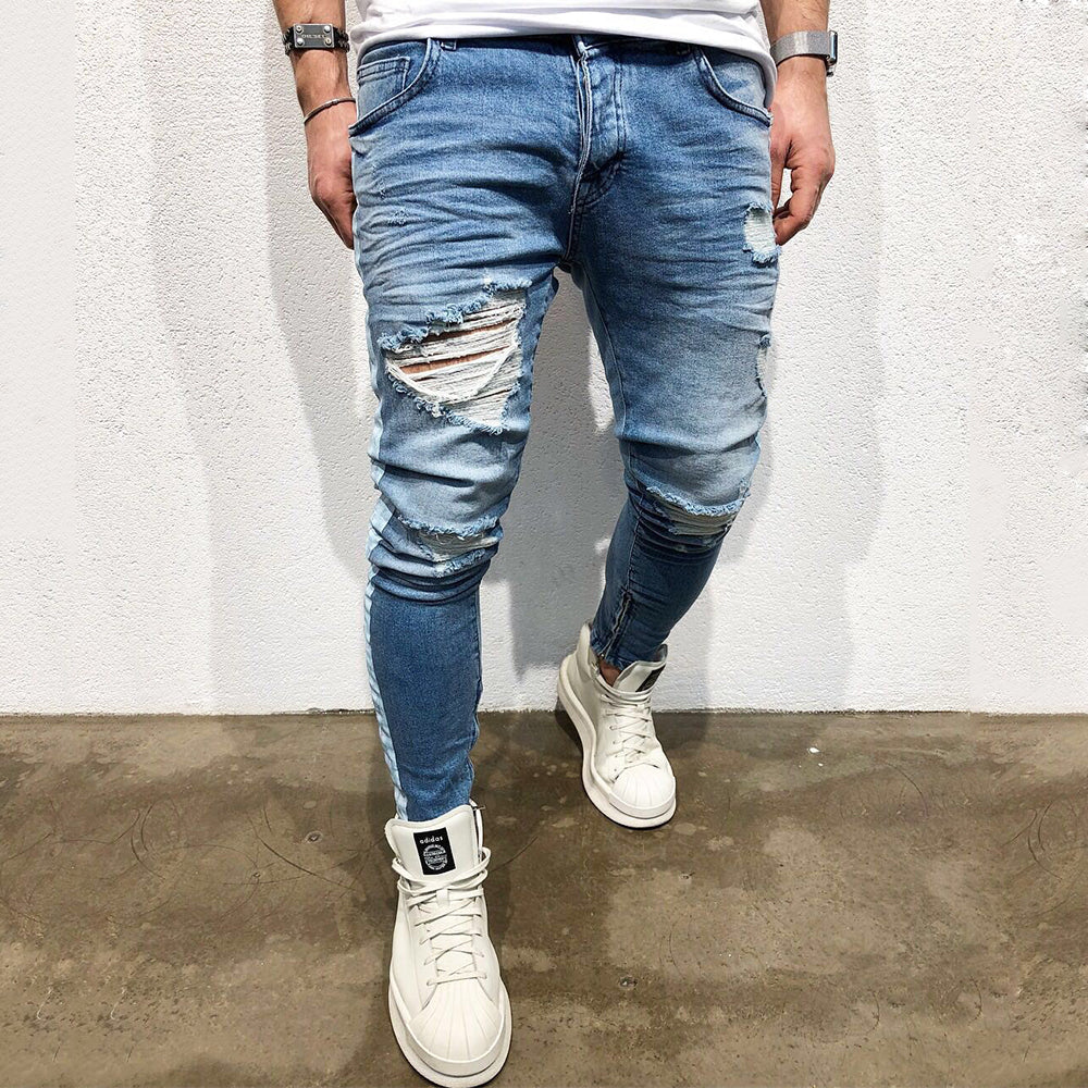 Designed Ripped Jeans