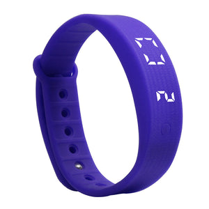 Smart Wristband With Pedometer