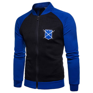 Zipper Baseball Jacket