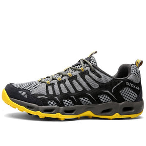 Breathable Mesh Vamp Hiking Shoes