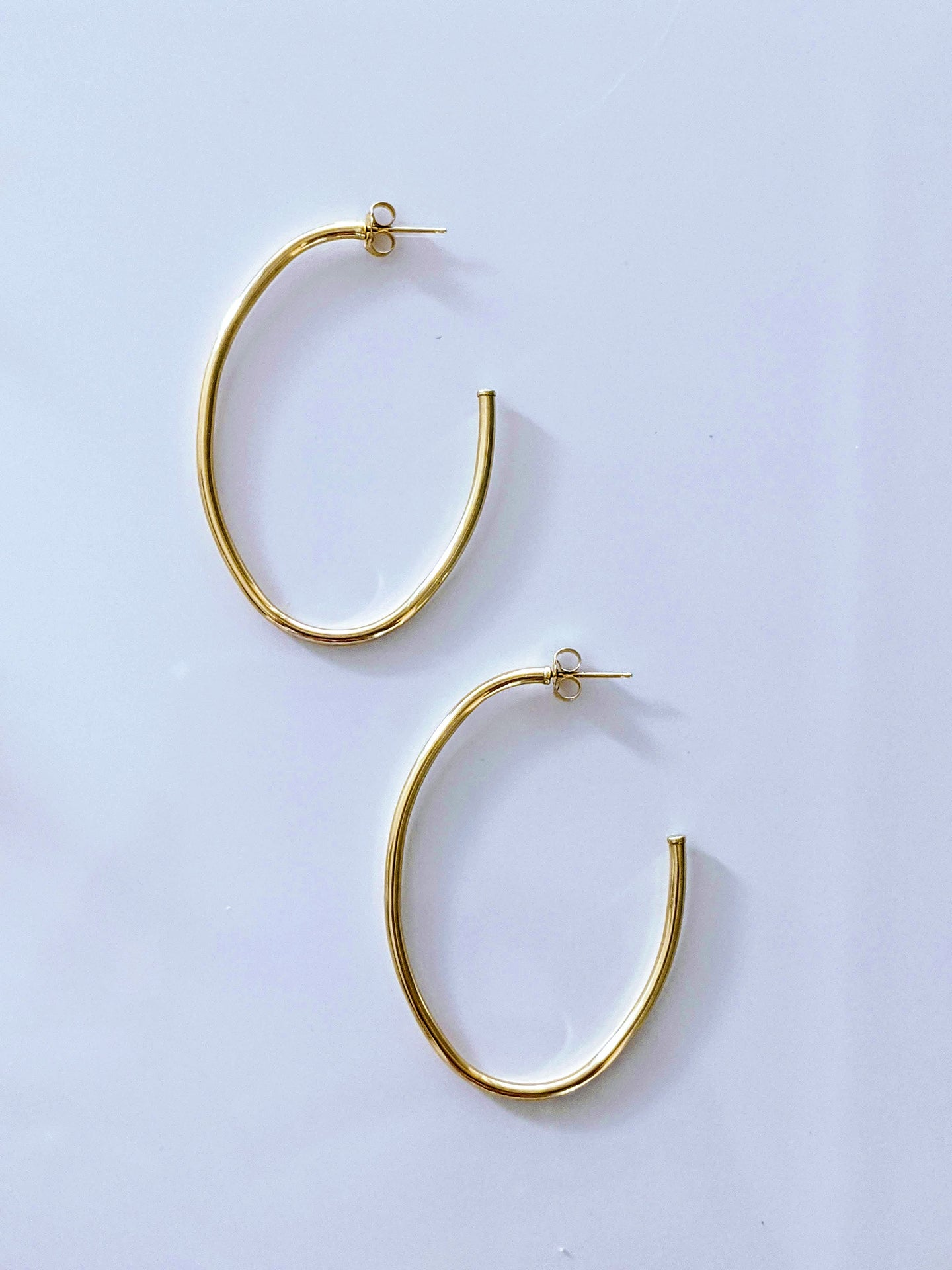 Muse Oval Post Earring