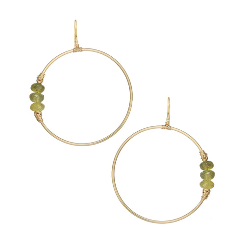 Heaven Hoop Earrings