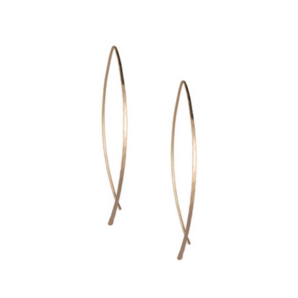 Arc Slide Thru Earrings