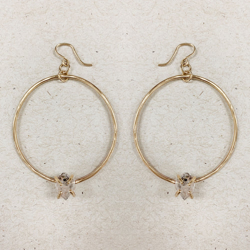 Bohemian Soul Hoop Earrings