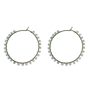 Cascade Hoop Earrings