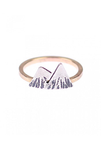 Double Mountain Ring