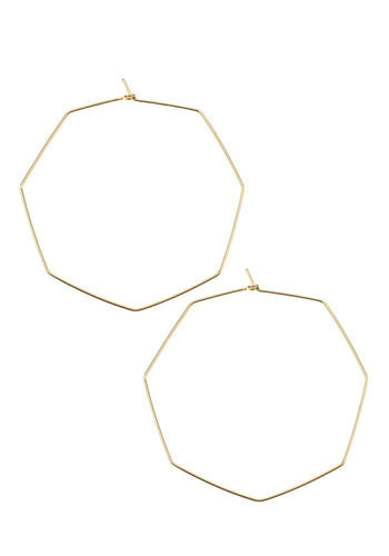 Extra Large Pure Octagon Hoops