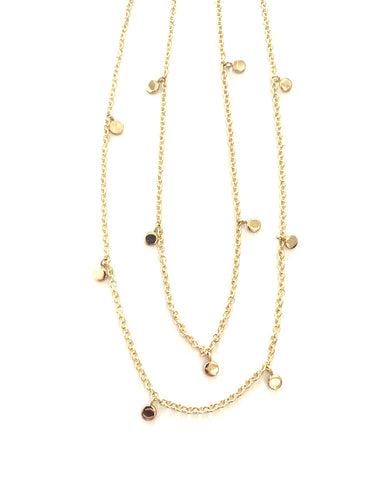 HARLOW Layered Shimmer Necklace