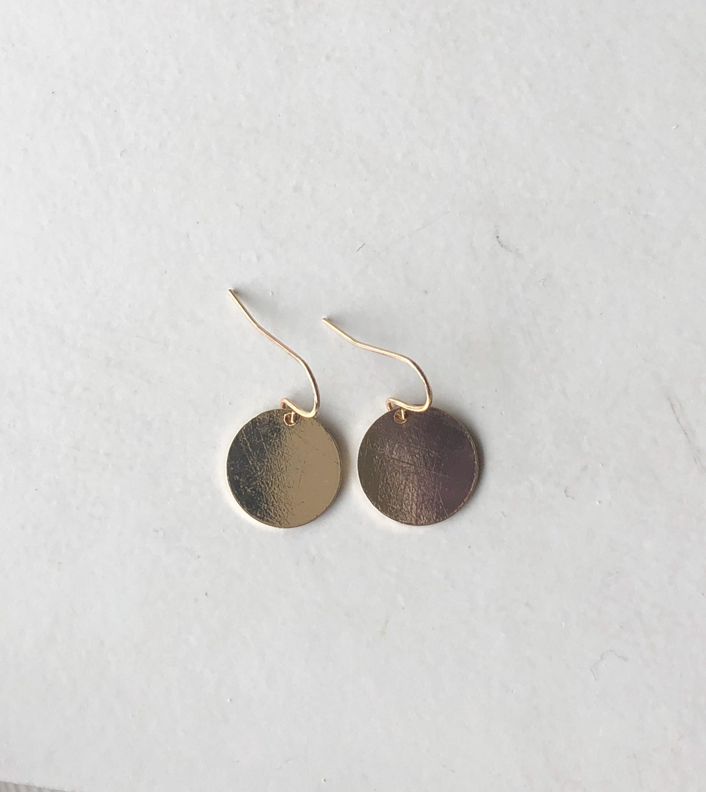 HARLOW Solid Circle Earrings