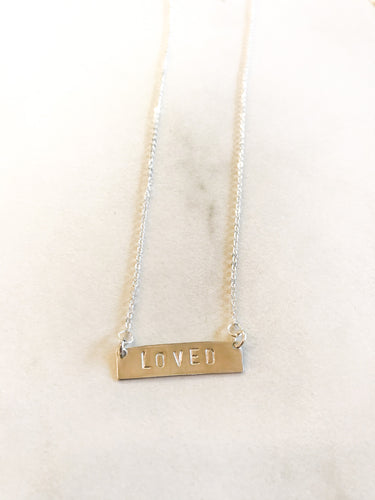 Short Bar Necklace